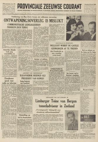 Provinciale Zeeuwse Courant 1960-06-28