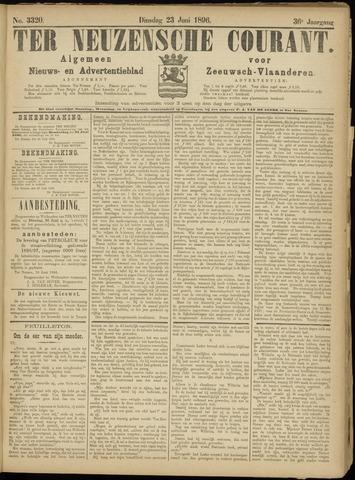 Ter Neuzensche Courant. Algemeen Nieuws- en Advertentieblad voor Zeeuwsch-Vlaanderen / Neuzensche Courant ... (idem) / (Algemeen) nieuws en advertentieblad voor Zeeuwsch-Vlaanderen 1896-06-23