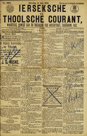 Ierseksche en Thoolsche Courant 1910-06-11