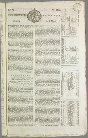 Zierikzeesche Courant 1814-03-08