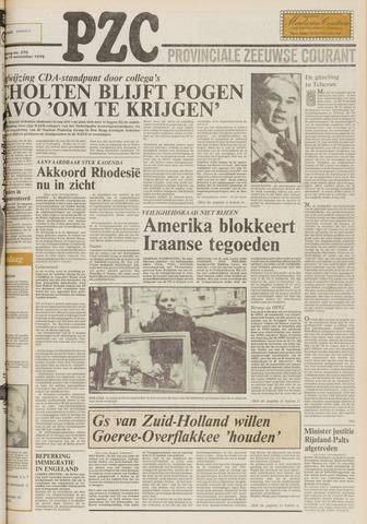 Provinciale Zeeuwse Courant 1979-11-15