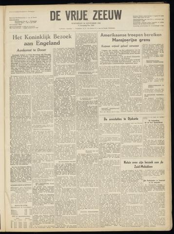 de Vrije Zeeuw 1950-11-22
