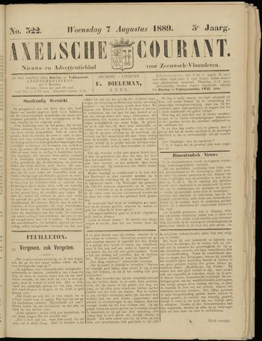 Axelsche Courant 1889-08-07