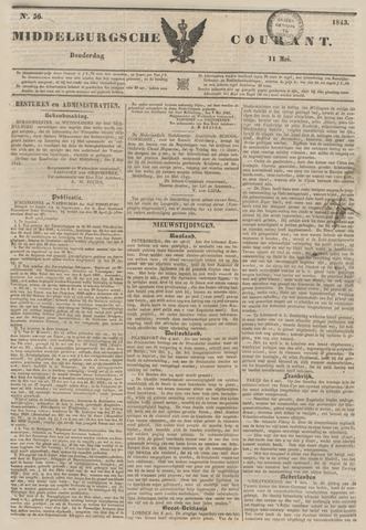 Middelburgsche Courant 1843-05-11