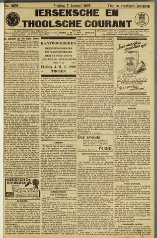 Ierseksche en Thoolsche Courant 1927