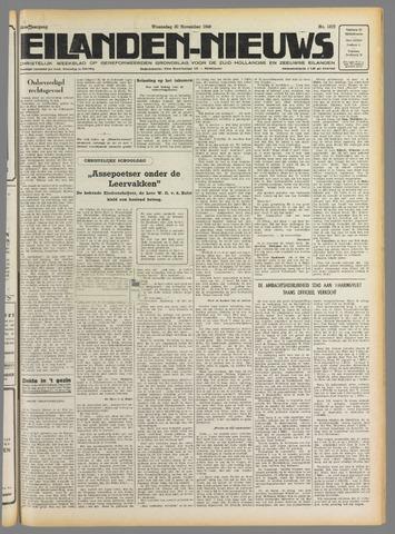 Eilanden-nieuws. Christelijk streekblad op gereformeerde grondslag 1949-11-30