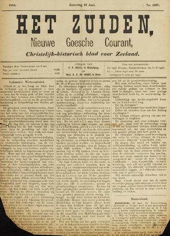 Het Zuiden, Christelijk-historisch blad 1885-06-13