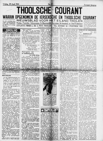 Ierseksche en Thoolsche Courant 1944-04-28