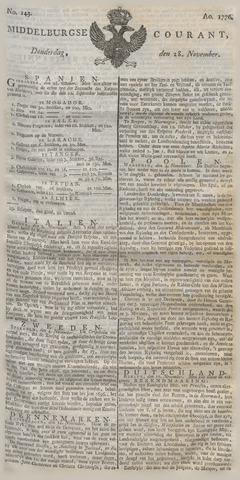 Middelburgsche Courant 1776-11-28