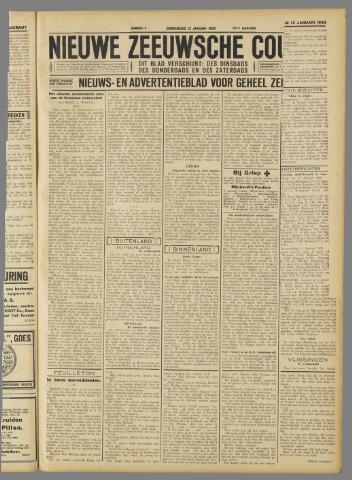 Nieuwe Zeeuwsche Courant 1933-01-12