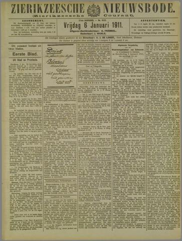 Zierikzeesche Nieuwsbode 1911-01-06