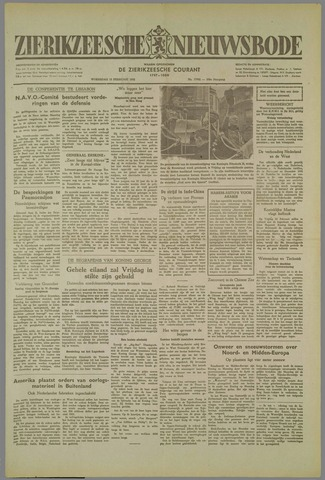 Zierikzeesche Nieuwsbode 1952-02-13