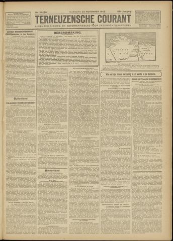 Ter Neuzensche Courant. Algemeen Nieuws- en Advertentieblad voor Zeeuwsch-Vlaanderen / Neuzensche Courant ... (idem) / (Algemeen) nieuws en advertentieblad voor Zeeuwsch-Vlaanderen 1942-11-23