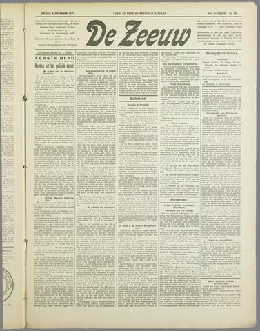 De Zeeuw. Christelijk-historisch nieuwsblad voor Zeeland 1934-11-09