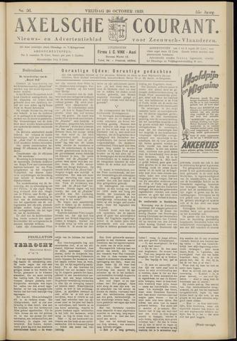 Axelsche Courant 1939-10-20