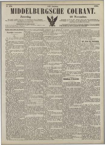 Middelburgsche Courant 1902-11-22