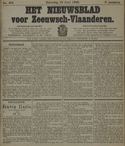 Nieuwsblad voor Zeeuwsch-Vlaanderen 1899-06-10