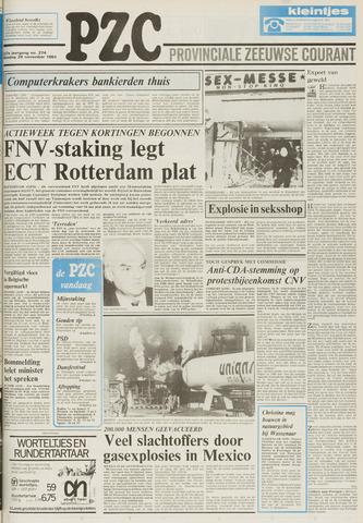Provinciale Zeeuwse Courant 1984-11-20