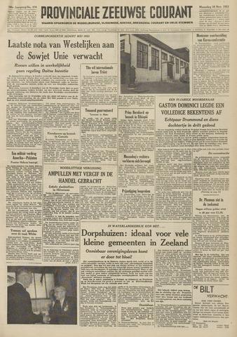 Provinciale Zeeuwse Courant 1953-11-16