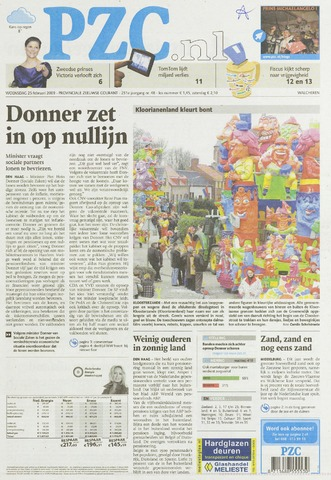 Provinciale Zeeuwse Courant 2009-02-25
