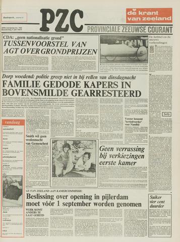 Provinciale Zeeuwse Courant 1977-07-07