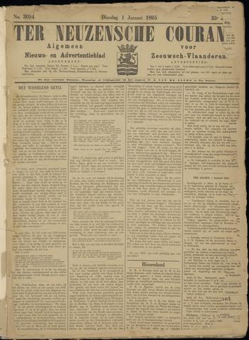 Ter Neuzensche Courant. Algemeen Nieuws- en Advertentieblad voor Zeeuwsch-Vlaanderen / Neuzensche Courant ... (idem) / (Algemeen) nieuws en advertentieblad voor Zeeuwsch-Vlaanderen 1895