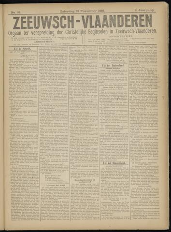 Luctor et Emergo. Antirevolutionair nieuws- en advertentieblad voor Zeeland / Zeeuwsch-Vlaanderen. Orgaan ter verspreiding van de christelijke beginselen in Zeeuwsch-Vlaanderen 1918-11-23
