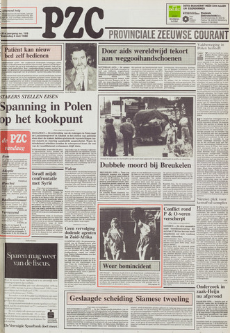 Provinciale Zeeuwse Courant 1988-05-04