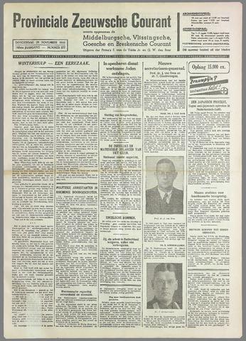 Provinciale Zeeuwse Courant 1940-11-28