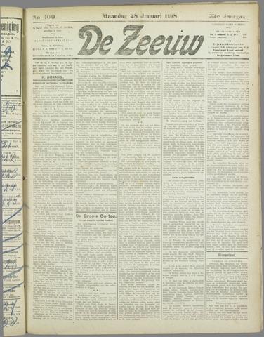 De Zeeuw. Christelijk-historisch nieuwsblad voor Zeeland 1918-01-28