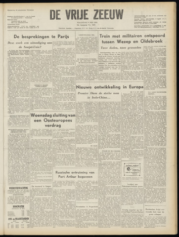 de Vrije Zeeuw 1955-05-09