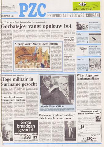 Provinciale Zeeuwse Courant 1990-06-13