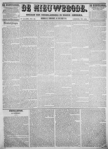 Sheboygan Nieuwsbode 1858-01-19