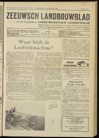 Zeeuwsch landbouwblad ... ZLM land- en tuinbouwblad 1952-08-02