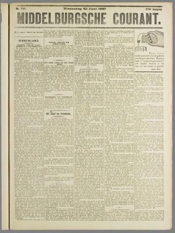 Middelburgsche Courant 1927-06-22
