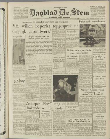 de Stem 1958-01-13
