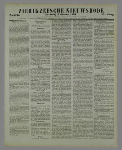 Zierikzeesche Nieuwsbode 1888-10-06