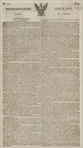 Middelburgsche Courant 1827-02-17