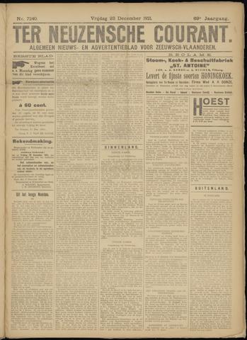 Ter Neuzensche Courant. Algemeen Nieuws- en Advertentieblad voor Zeeuwsch-Vlaanderen / Neuzensche Courant ... (idem) / (Algemeen) nieuws en advertentieblad voor Zeeuwsch-Vlaanderen 1921-12-23