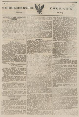 Middelburgsche Courant 1844-07-20