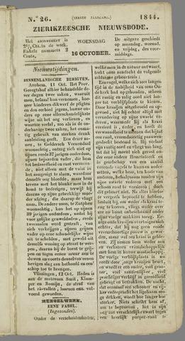Zierikzeesche Nieuwsbode 1844-10-16