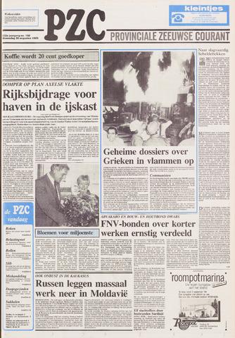 Provinciale Zeeuwse Courant 1989-08-30