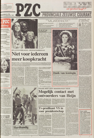 Provinciale Zeeuwse Courant 1987-09-16