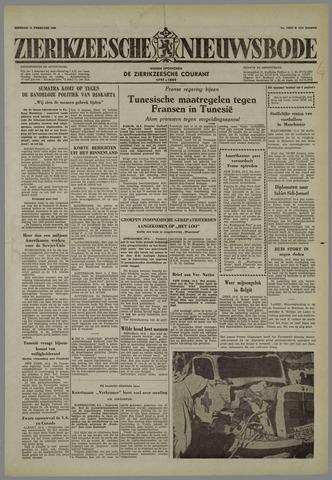 Zierikzeesche Nieuwsbode 1958-02-11