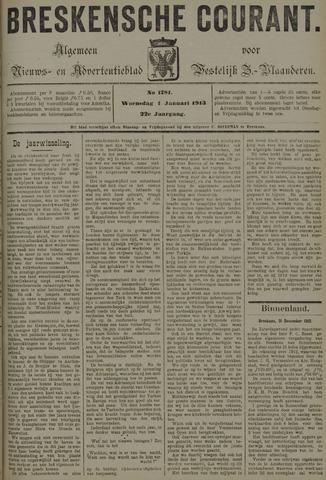 Breskensche Courant 1913