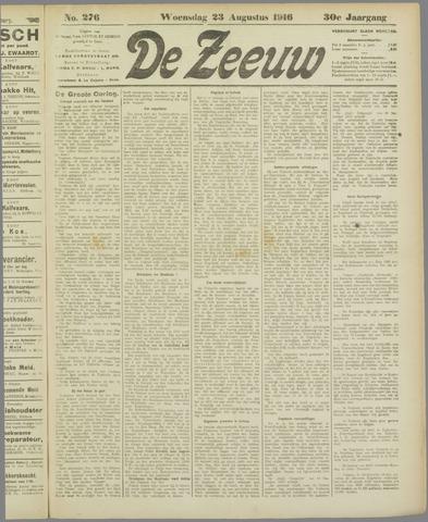 De Zeeuw. Christelijk-historisch nieuwsblad voor Zeeland 1916-08-23