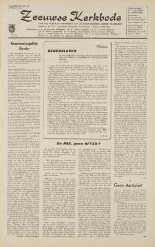 Zeeuwsche kerkbode, weekblad gewijd aan de belangen der gereformeerde kerken/ Zeeuwsch kerkblad 1962-03-09