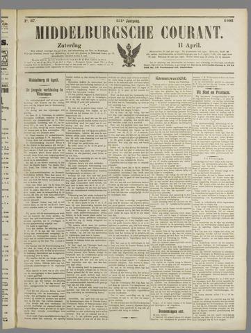Middelburgsche Courant 1908-04-11