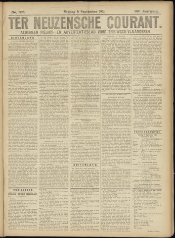 Ter Neuzensche Courant. Algemeen Nieuws- en Advertentieblad voor Zeeuwsch-Vlaanderen / Neuzensche Courant ... (idem) / (Algemeen) nieuws en advertentieblad voor Zeeuwsch-Vlaanderen 1921-09-09
