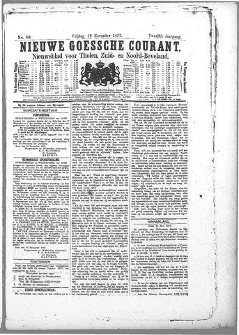 Nieuwe Goessche Courant 1877-11-16